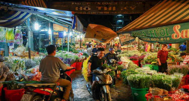 Chợ hoa Hồ Thị Kỷ 03