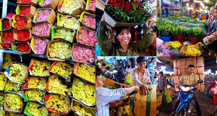 Chợ hoa Hồ Thị Kỷ 09
