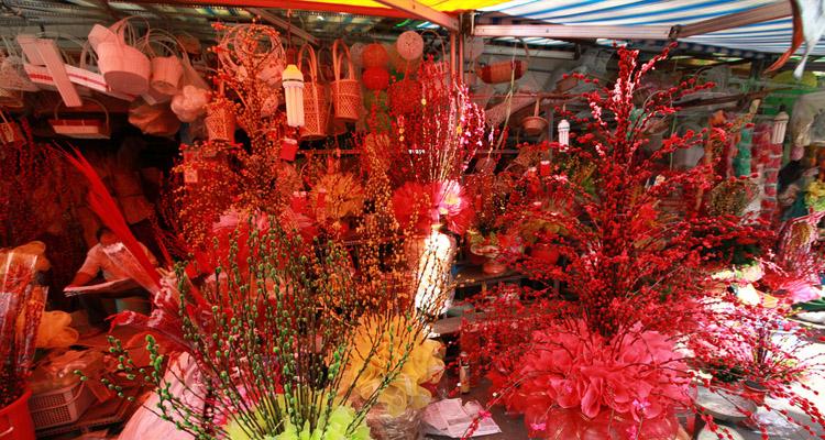 Chợ hoa Hồ Thị Kỷ 11