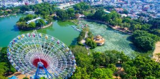 Công viên văn hóa Đầm Sen - trên xuống