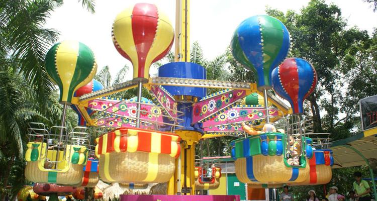 Công viên văn hóa Đầm Sen - khinh khí cầu