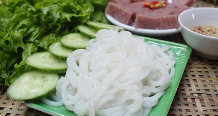 Đặc sản Bắc Giang - bún
