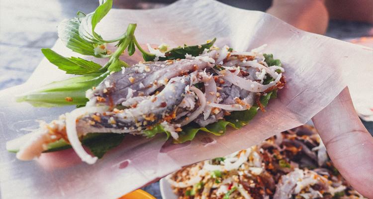 Đặc sản Kiên Giang - gỏi cá