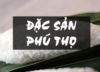 Đặc sản Phú Thọ - cơm