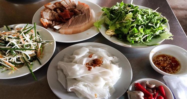 Đặc sản Quảng Trị - bánh ướt