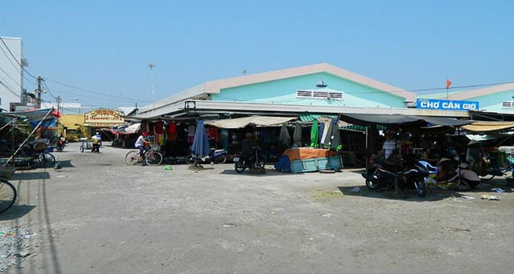 Du lịch Cần Giờ - chợ hải sản