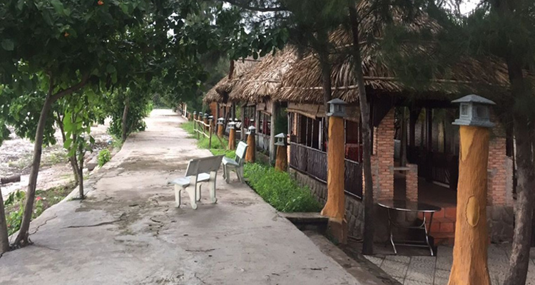 Du lịch Cần Giờ - khách sạn nhạn trắng