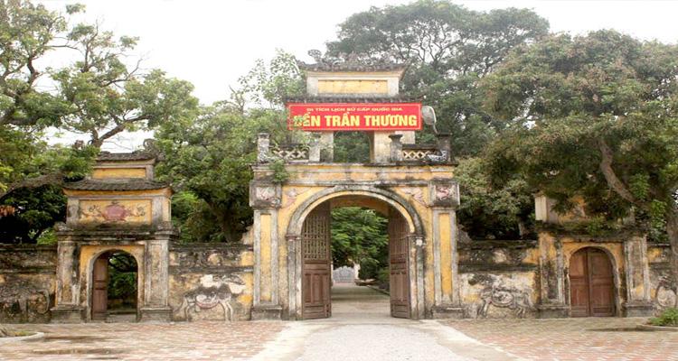 Du lịch Hà Nam - đền Trần Thương