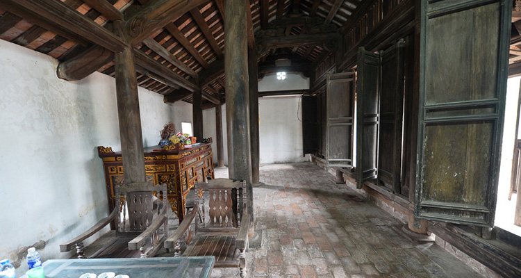 Du lịch Hà Nam - kiến trúc làng ngôi nhà bá kiến