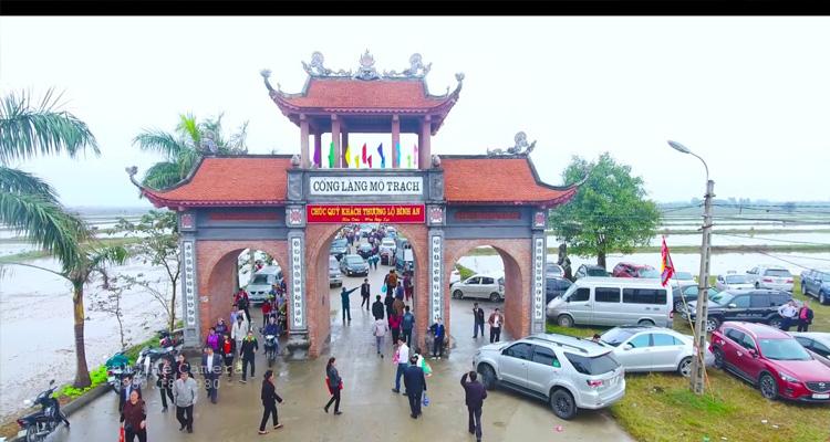 Du lịch Hải Dương - làng mộ trạch