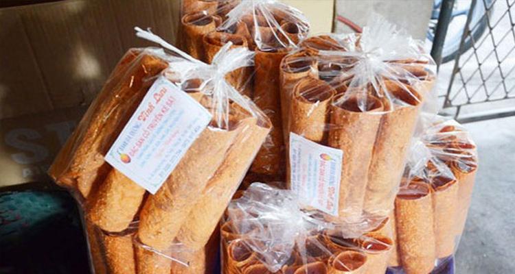 Du lịch Hải Dương - Bánh đa gấc Kẻ Sặt