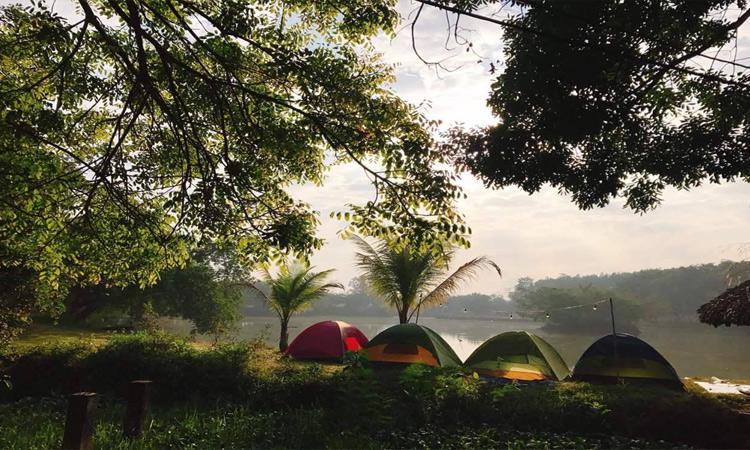 Khu du lịch Cao Minh - cắm trại