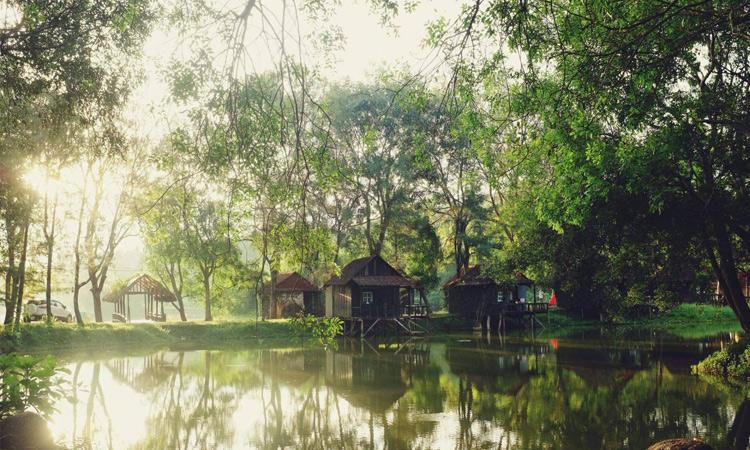 Khu du lịch Cao Minh - thơ mộng