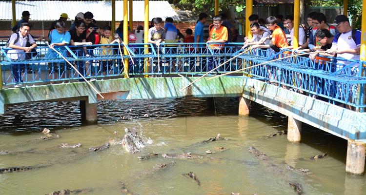 Khu du lịch Vinh Sang - câu cá