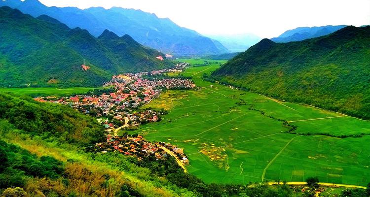 Mai Châu Hòa Bình - thung lũng