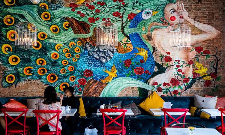 Quán cafe đẹp ở Sài Gòn - nu bistro