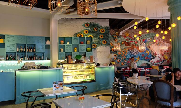 Quán cafe đẹp ở Sài Gòn - nghệ thuật