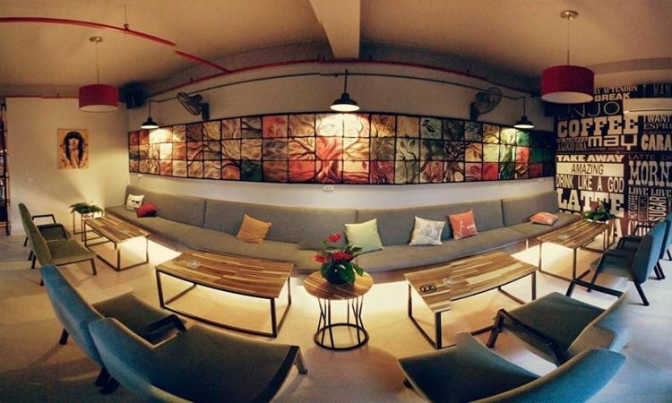 Quán cafe đẹp ở Sài Gòn - cafe máy