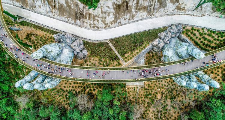 Tham quan Cầu Vàng Đà Nẵng 12