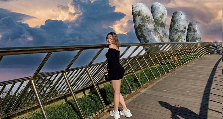 Tham quan Cầu Vàng Đà Nẵng 15
