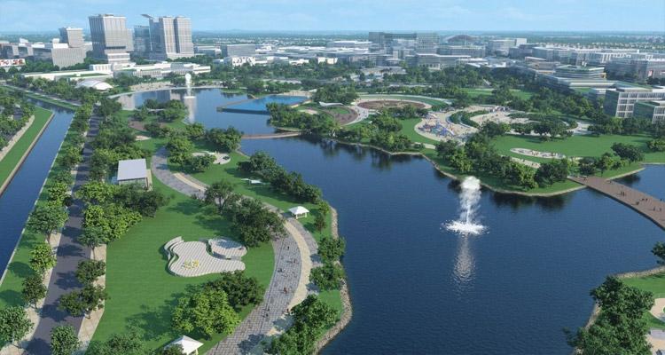 Công viên thành phố mới Bình Dương 1
